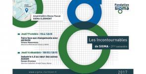 Les Incontournables de SIGMA : jeudi 14 décembre 2017