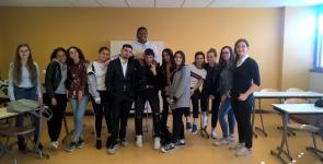 Jury Lycée Brugière Olympe de la Parole 2019
