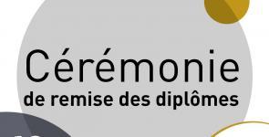 Cérémonie de remise de diplomes du 3 décembre 2016