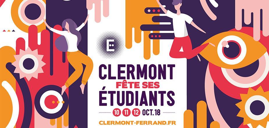 Clermont Fête ses Etudiants 2018