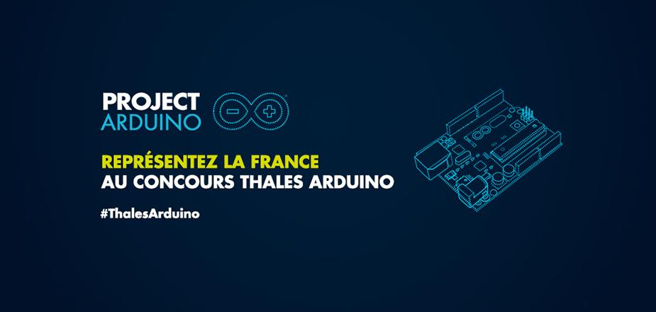 Concours Thales Arduino
