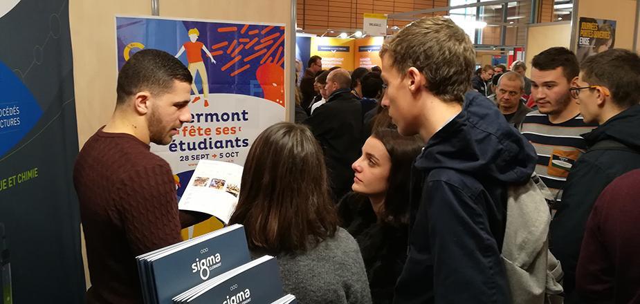 SIGMA Clermont au salon des Grandes Ecoles 2018