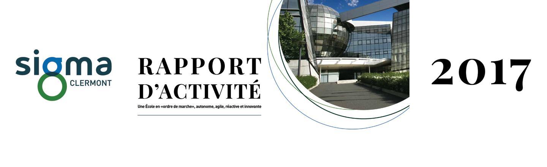 Slider Desktop Rapport d'activité SIGMA Clermont 2017